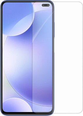 Knotyy Tempered Glass Guard for Poco X2(Pack of 1)