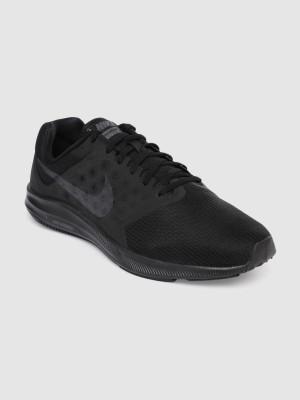 Nike Men Black DOWNSHIFTER 7 Running Shoes Running Shoes For Men Black