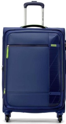 VIP AVID 4W EXP STROLLY 71 BLUE Expandable Check in Luggage   24 inch