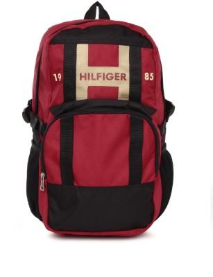 Tommy Hilfiger Unisex Backpack 23 L Backpack Red