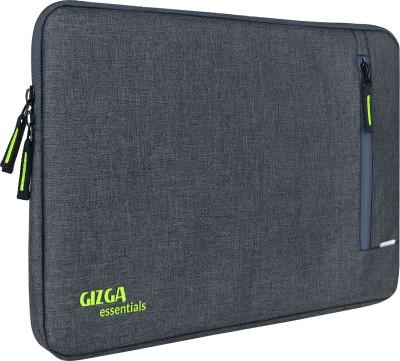 Gizga Essentials 13.3 Inch Laptop Sleeve, Protective, Nylon Fabric Laptop Bag(Grey)