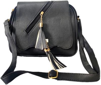style bits Women Black Sling Bag