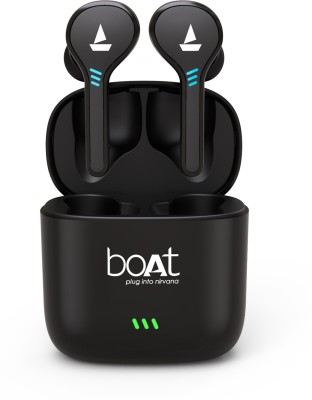 boAt Airdopes 431 True Wireless Bluetooth Headset(Black, True Wireless)