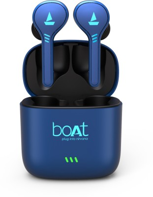 boAt Airdopes 431 True Wireless Bluetooth Headset(Blue, True Wireless)