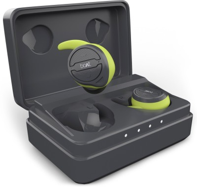 boAt Airdopes 491 True Wireless Bluetooth Headset(Spirit Lime, True Wireless)