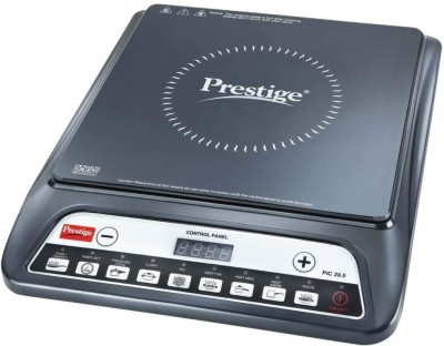 Prestige PIC 20.0 Induction Cooktop, 1 Piece Induction Cooktop(Black, Push Button)