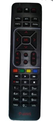 sinkul , AIRTEL TV Remote Controller Black