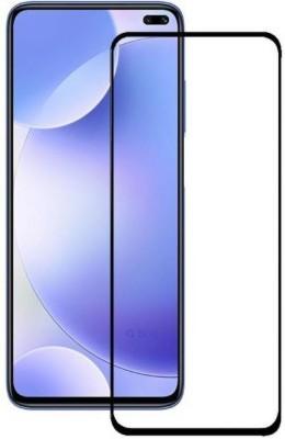 BIZBEEtech Edge To Edge Tempered Glass for Mi Redmi K30, Poco X2(Pack of 1)