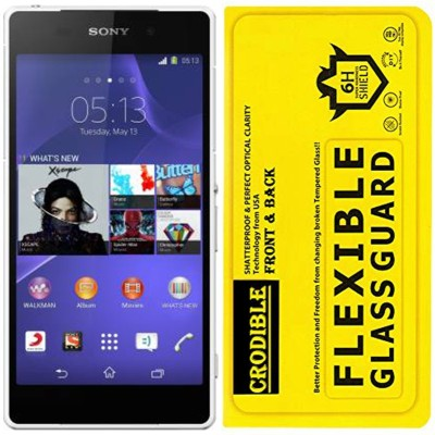 CRodible Front and Back Screen Guard for Sony Xperia Z2(Pack of 1)
