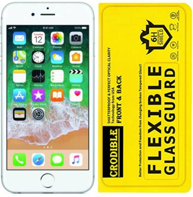 CRodible Front and Back Screen Guard for Apple iPhone 5s(Pack of 1)