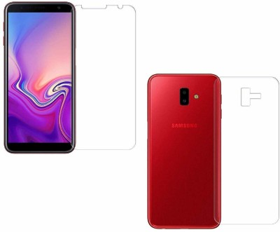 Artena Front and Back Screen Guard for Samsung Galaxy J6 Plus(Pack of 2)