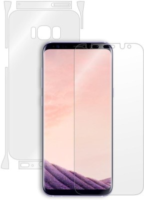 Mudshi Front and Back Screen Guard for Samsung Galaxy S8 Plus(Pack of 1)
