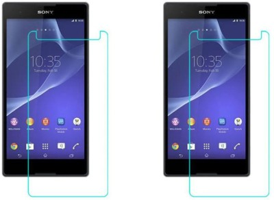 Rookio Front and Back Screen Guard for Sony Xperia T2 Ultra(Pack of 2)