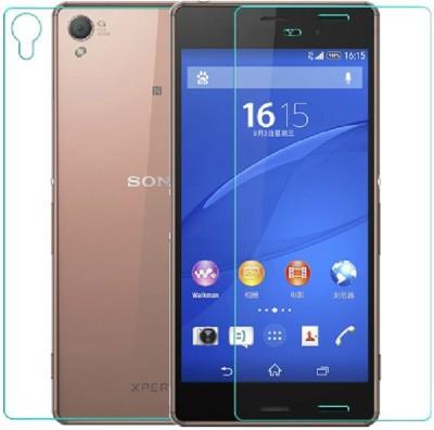 Rookio Front and Back Screen Guard for Sony Xperia Z3(Pack of 2)