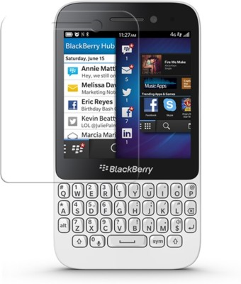 RockJon Impossible Screen Guard for Blackberry Q5(Pack of 1)