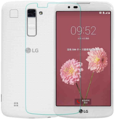 MudShi Tempered Glass Guard for Lg K10(Pack of 1)