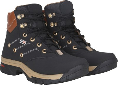 Kraasa Climber Boots For Men(Black)