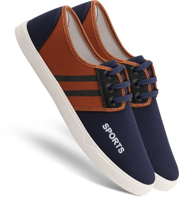 Chevit 171 Smart Tan Lace-Ups Casuals for Men Sneakers For Men(Tan)