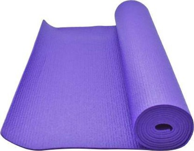 Cloyara Anti Skid(Non-Slip) Exercise Multi-Color Mat Purple 4 mm Yoga Mat