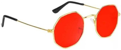 FOX fusion Wayfarer Sunglasses(Red)