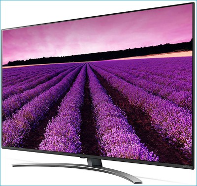 LG 139cm (55 inch) Ultra HD (4K) LED Smart TV with Nanocell(55SM8100PTA)
