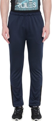 Ajile by Pantaloons Solid Men Blue Track Pants
