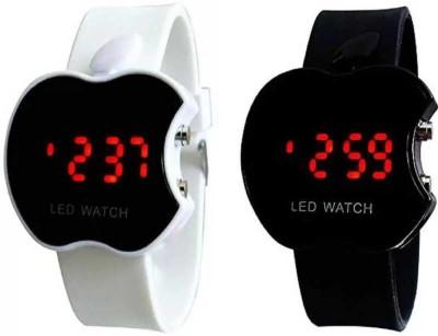 aktraders apple shape led watch Digital Watch    For Boys