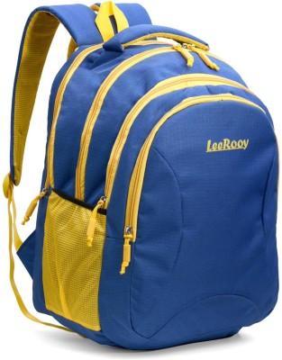 LeeRooy BG5 BLUE STR 32 L Backpack Blue LeeRooy Backpacks