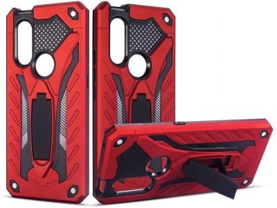 VAKIBO Back Cover for Vivo V15(Red, Rugged Armor)
