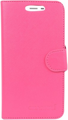 HEAVIN Flip Cover for Karbonn A7 Star(Pink, Dual Protection)
