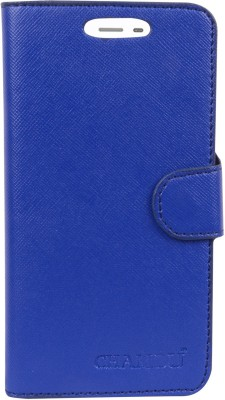 HEAVIN Flip Cover for Karbonn A7 Star(Blue, Dual Protection)