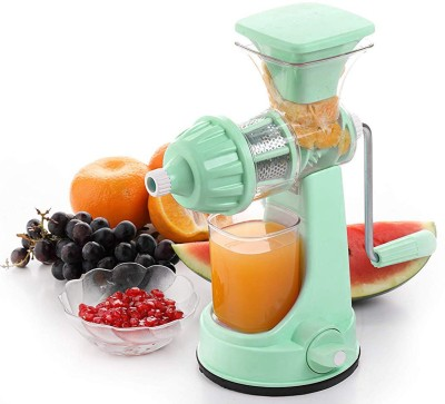 Ganesh Plastic Hand Juicer Large Stainless Steel And Plastic Hand Juicer Four Way Filter Mesh to Extract Maximum Juice Out...