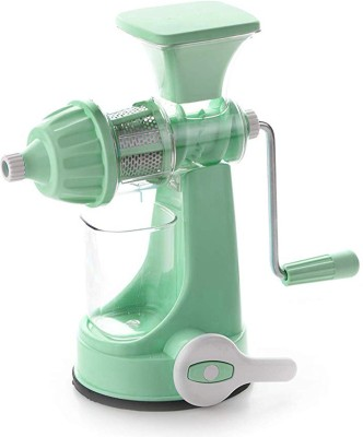 Ganesh Extreme Plastic Hand Juicer Large Stainless Steel And Plastic Hand Juicer Four Way Filter Mesh to Extract Maximum Juice...