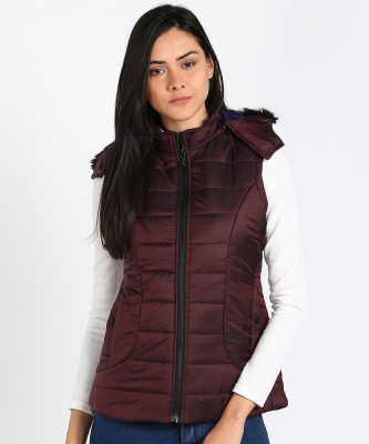 Duke Sleeveless Solid Women Jacket