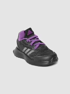 ADIDASLace Running Shoes For Boys Black