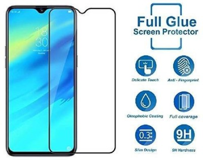 Dainty Edge To Edge Tempered Glass for Realme 5, Realme 5s, Realme c11, Realme c12, Realme c25(Pack of 1)