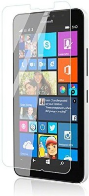 MudShi Tempered Glass Guard for Microsoft Lumia 640 XL(Pack of 1)