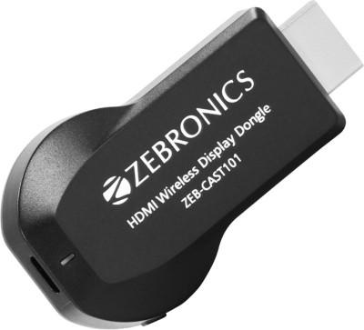 Zebronics ZEB CAST 101 Media Streaming Device  (Black)