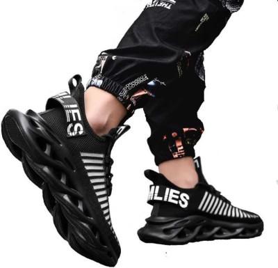 Deals4you Running Shoes For Men(Black)