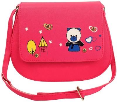 germanshepherd Pink Sling Bag
