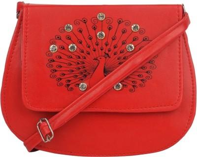 germanshepherd Red Sling Bag