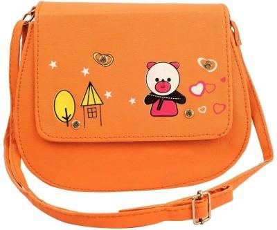 germanshepherd Orange Sling Bag