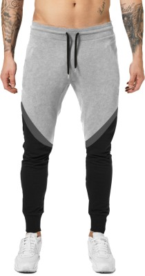 JUGULAR Color Block Men Multicolor Track Pants
