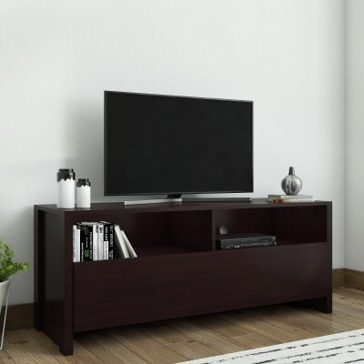 Flipkart Perfect Homes Engineered Wood TV Entertainment Unit(Finish Color - Dark Wenge)