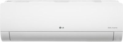 LG 1.5 Ton 5 Star Split Dual Inverter AC  - White(KS-Q18ENZA, Copper Condenser)
