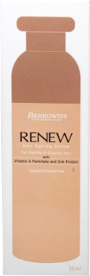 Berkowits Renew Anti Ageing Serum for Healthy and Glowing Skin(30 ml)