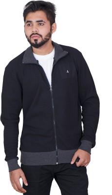 CARBON BASICS Full Sleeve Self Design Men Jacket