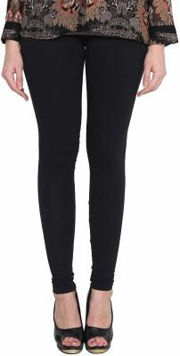 KEX Churidar  Legging(Black, Solid)