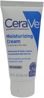 CeraVe Moisturizing Cream with 3 Essential Ceramides & Hyaluronic Acid 1.89 FL OZ(56 ml)