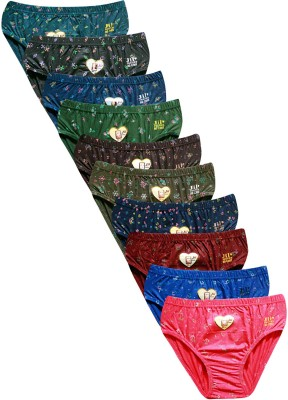 Jil X Women Hipster Multicolor Panty(Pack of 10)
